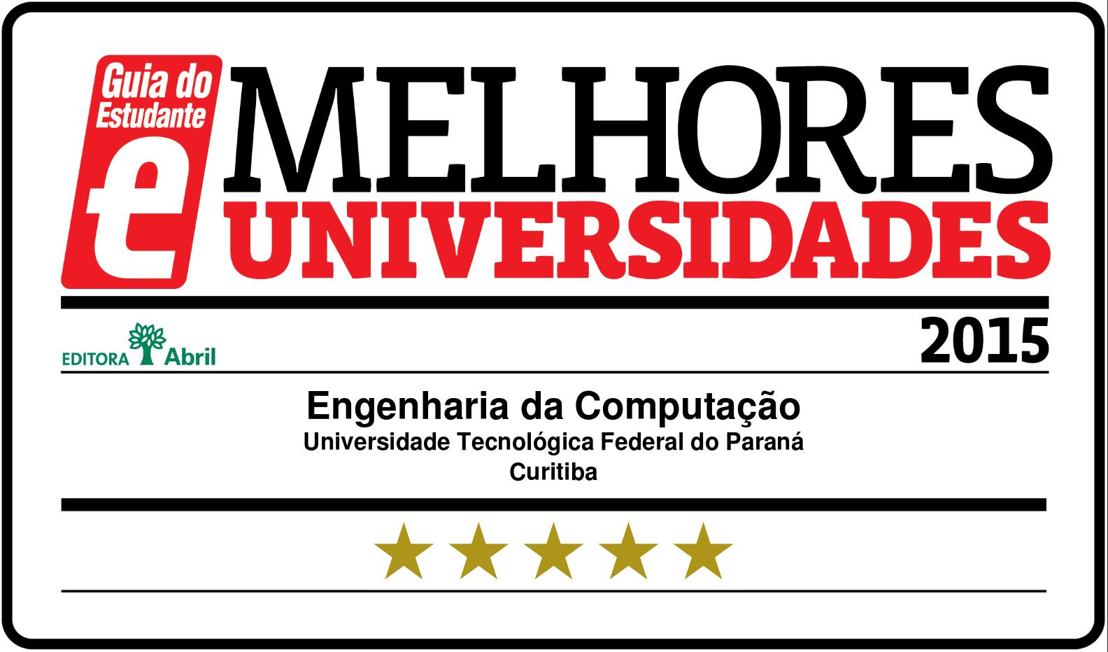 5 Estrelas EngComp 2015